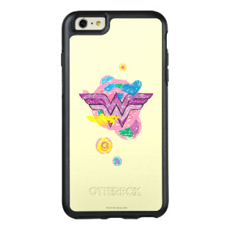 Wonder Woman Colourful Scribbles OtterBox iPhone 6/6s Plus Case