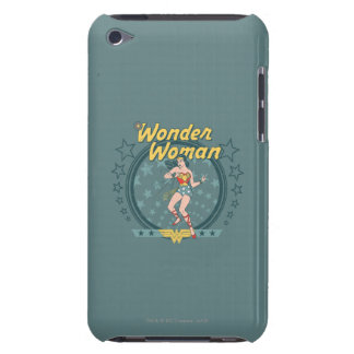 Wonder Woman Distressed Star Design iPod Case-Mate Cases