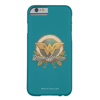 Wonder Woman Foliage Sketch Logo Barely There iPhone 6 Case