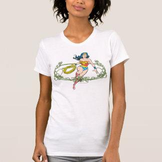 Wonder Woman Green Vines T-Shirt