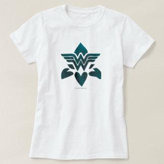 Wonder Woman Grunge Logo T-Shirt