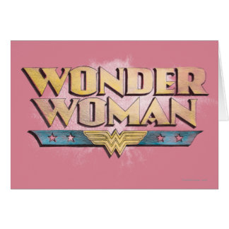 Wonder Woman greeting cards from Zazzle