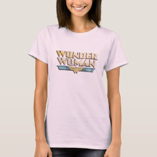 Wonder Woman Pencil Logo T-Shirt