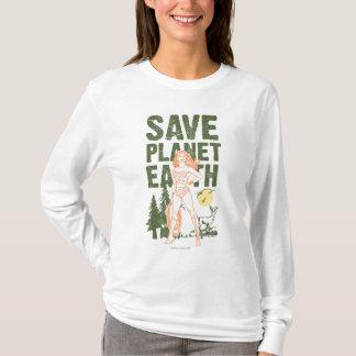 Wonder Woman Save Planet Earth T-Shirt