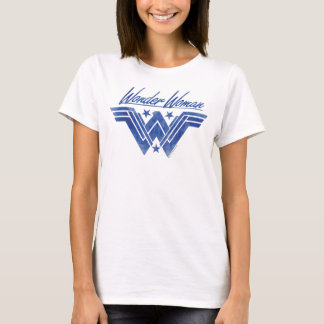 Wonder Woman Stacked Stars Symbol T-Shirt
