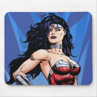 Wonder Woman & Sword Mouse Pad