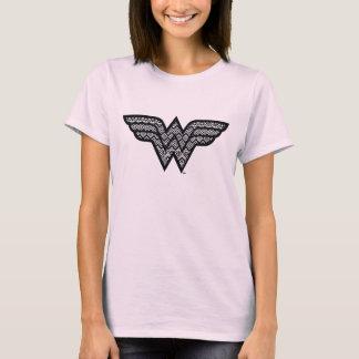 Wonder Woman Tribal Pattern T-Shirt