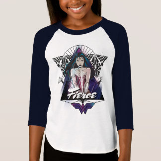 Wonder Woman Tribal Triangle T-Shirt