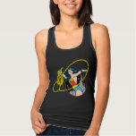 Wonder Woman with City Background Tee Shirts