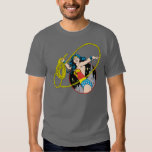 Wonder Woman with City Background Tees