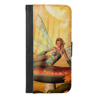 Wonderful fairy iPhone 6/6s plus wallet case