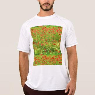 Wonderful poppy flowers VII - Wundervolle Mohnblum T-Shirt
