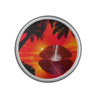 Wonderful sunset bluetooth speaker