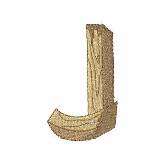 Wood Alphabet J