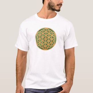 Wood Carving Scroll Saw Art of Flower of Life T-Shirt