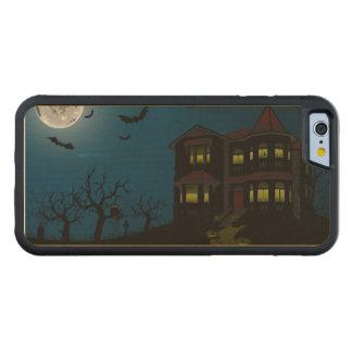 Wood Case iPhone 6 Happy Halloween