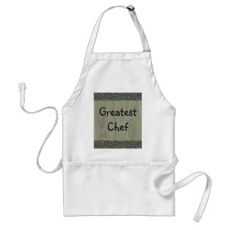 Wood Effect Abstract Apron