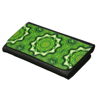 WOOD Element kaleido pattern Wallet