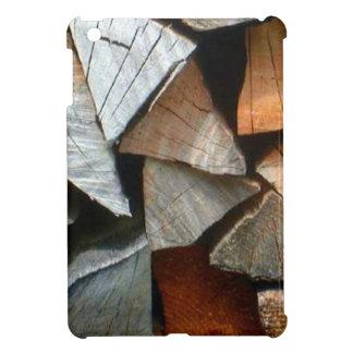 Wood for the winter near Mt Blanc range iPad Mini Cover