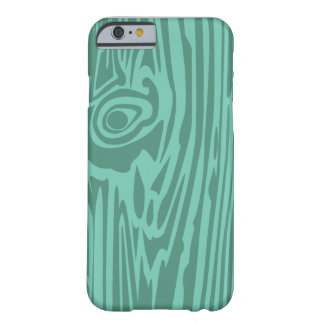 Wood Grain Barely There iPhone 6 Case