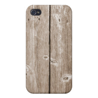 Wood Grain Case For iPhone 4