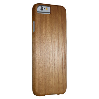 wood grain texture barely there iPhone 6 case