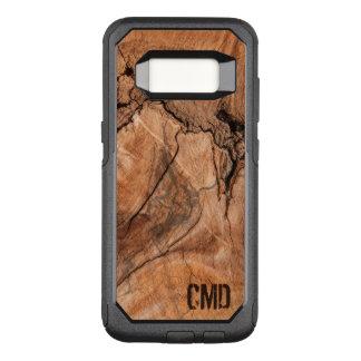 Wood Knots Texture OtterBox Commuter Samsung Galaxy S8 Case
