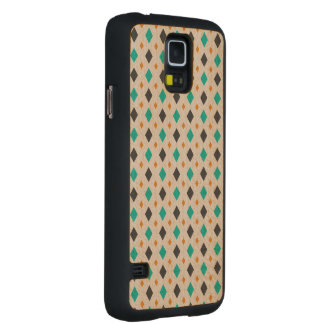 Wood pattern maple galaxy s5 slim case