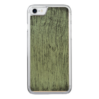 wood texture carved iPhone 8/7 case
