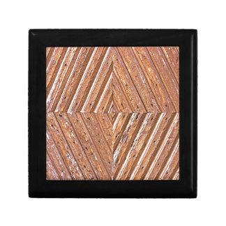 Wood Texture Gift Box
