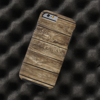 wood textures pattern tough iPhone 6 case