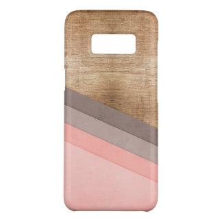 Wooden geometric art Case-Mate samsung galaxy s8 case