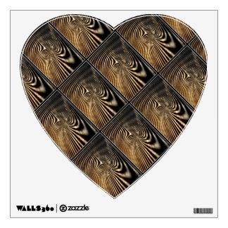 Wooden Heart Walldecal