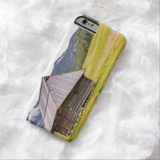 Wooden Hut In The Mountains, Landscape, Nature Barely There iPhone 6 Case