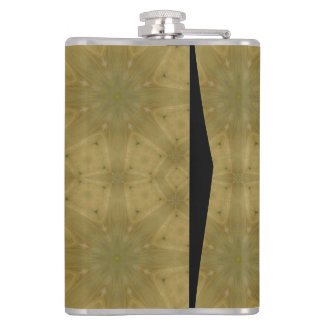 Wooden Pattern Hip Flask