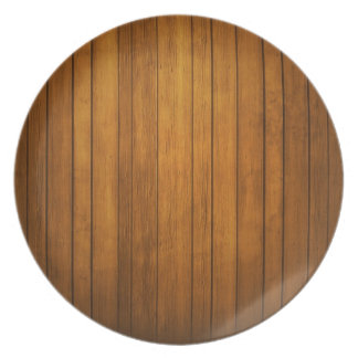 Wooden Stylish Plate Party Plate