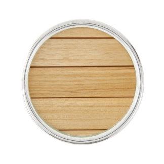Wooden Tiles Lapel Pin