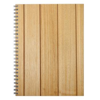 Wooden Tiles Photo Notebook