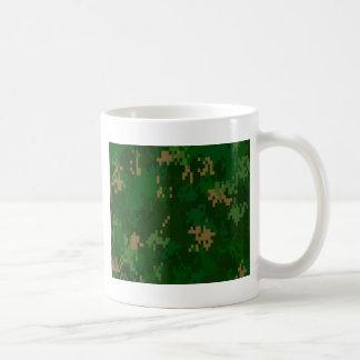 Woodland Camo Basic White Mug