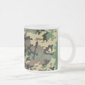 Woodland Camo Frosted Coffee Mug