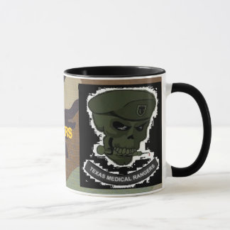 woodland camo, Medical rangers skull large cup