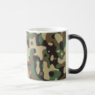 Woodland Camo Morphing Mug