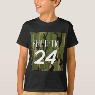 Woodland Camo Skeptic T-Shirt