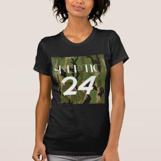 Woodland Camo Skeptic Tshirts