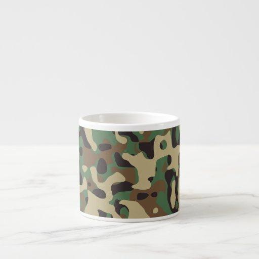 Woodland Camo Espresso Cups