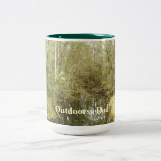 Woodland Creek Landscape Fathers Day Mug