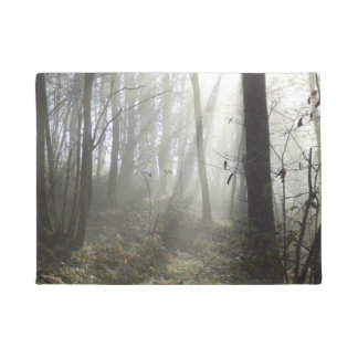 Woodland Morning Mist Door Mat