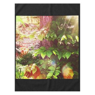 "Woodland Mystics in Maine, 52""x70"" Tablecloth"