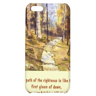 'Woodland Path (Christian)' iPhone 4 Case