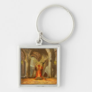 Woodland Realm Throne Room Concept Key Ring